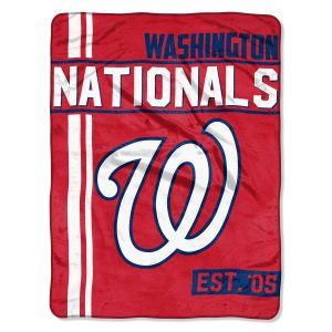 """Nationals OFFICIAL Major League Baseball, """"""""Walk Off"""""""" 46″""""x 60″"""" Micro Raschel Throw  by The Northwest Company"""